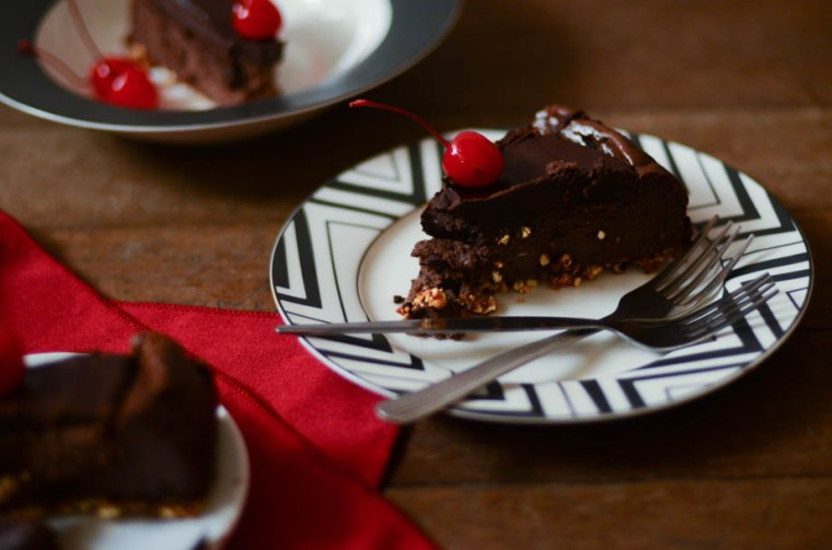 Cherry Chocolate Cheesecake 4