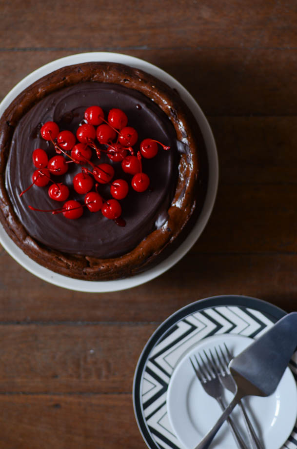 Cherry Chocolate Cheesecake 7