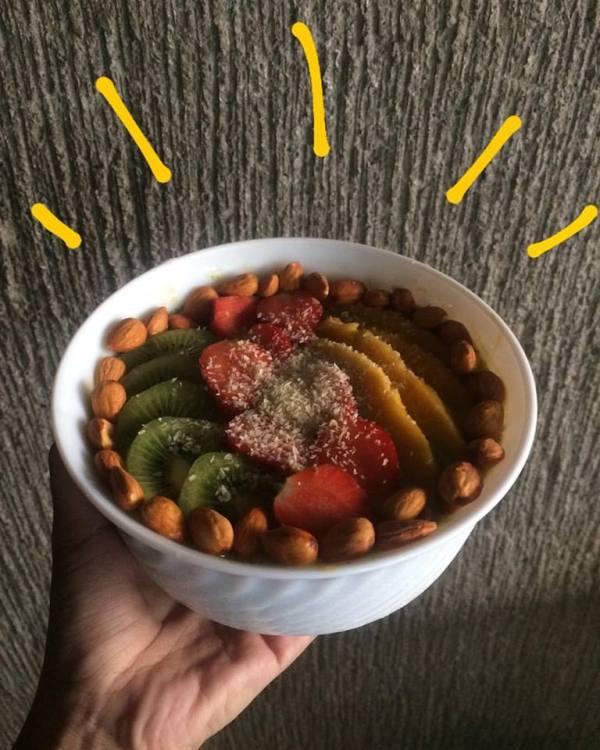 Avocado Smoothie Bowl